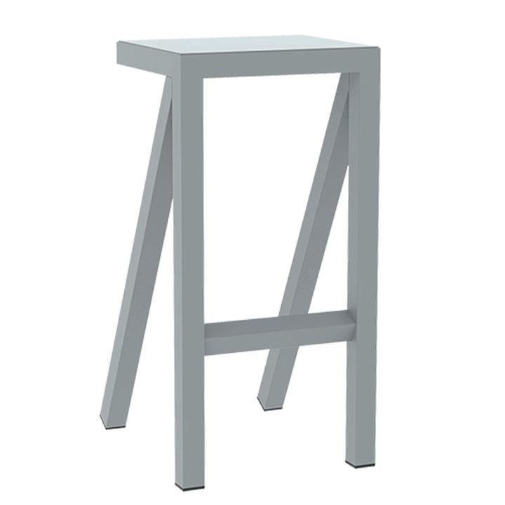 Bureaurama kitchen stool H 62 cm from Magis in grey