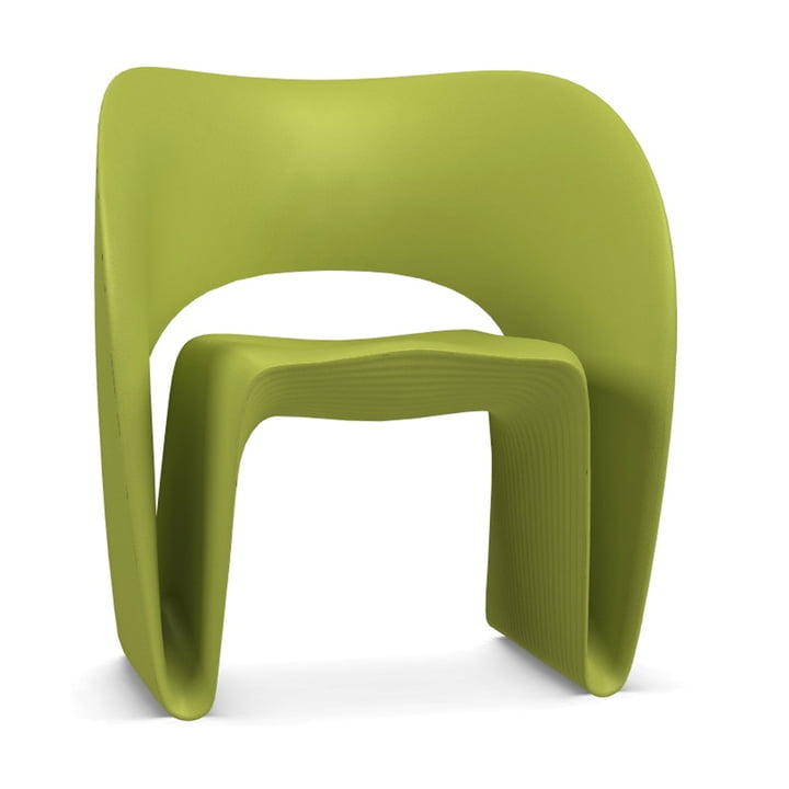 Raviolo Armchair from Magis in pistachio