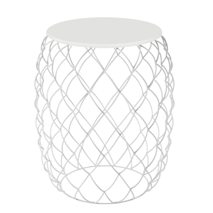 Piña side table from Magis in white
