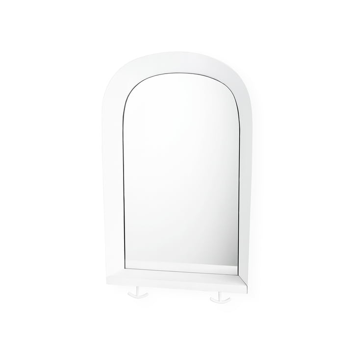 Portal Wall mirror from Nofred in white