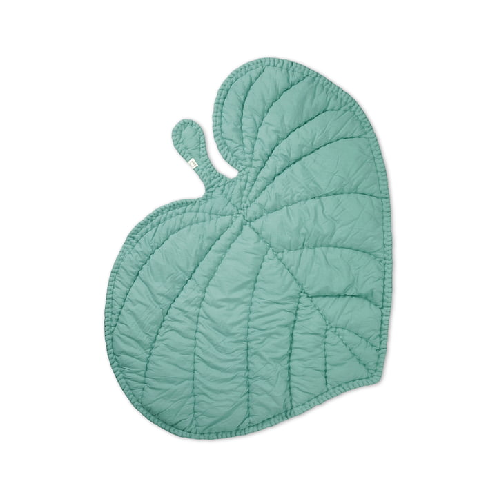 Leaf Playing blanket from Nofred in mint green
