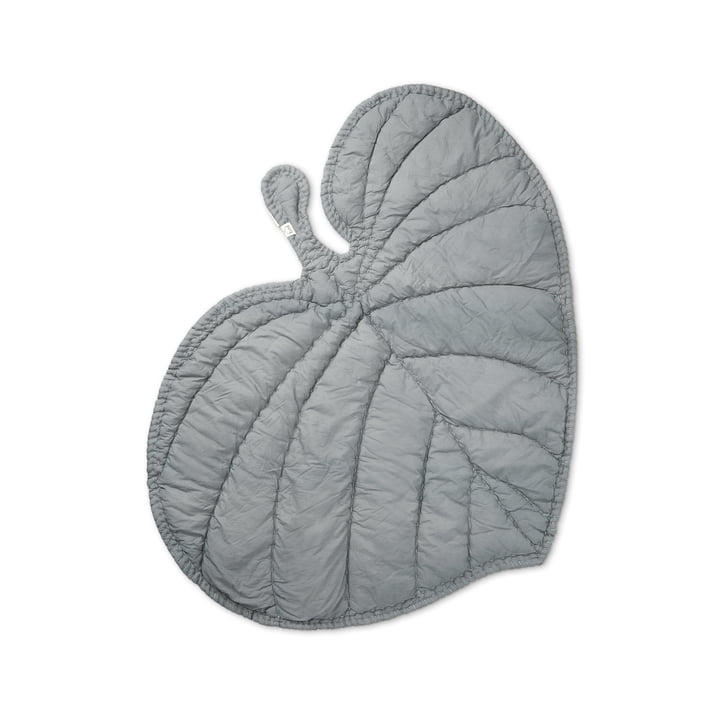 Leaf Playing blanket from Nofred in grey