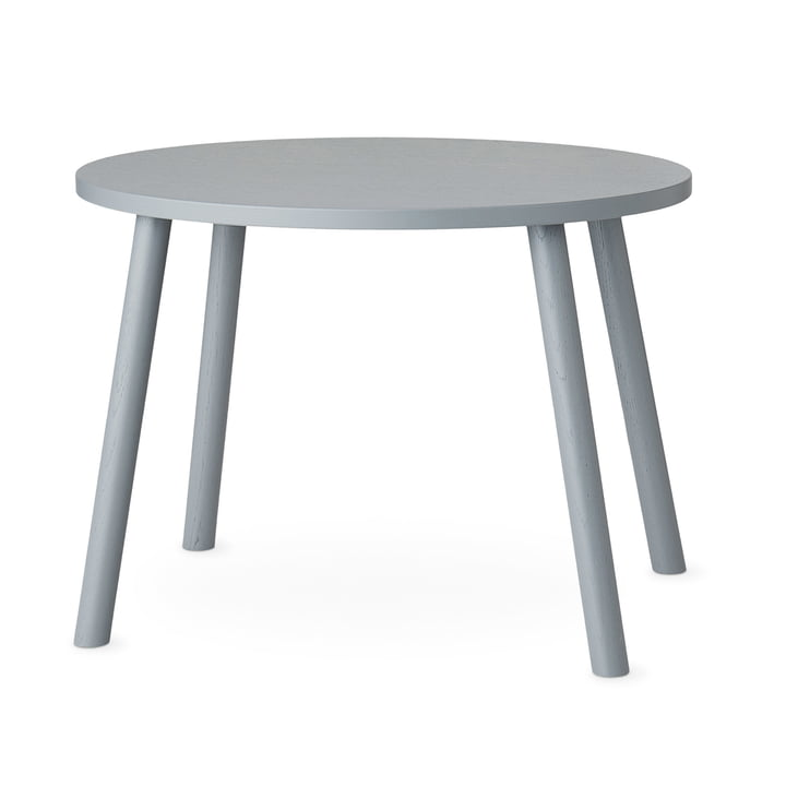 Mouse Children's table oval 64 x 46 cm from Nofred in grey