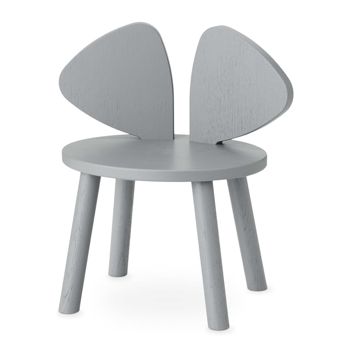 Mouse Kids chair from Nofred in grey