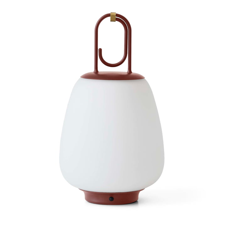 Lucca SC51 Portable Battery LED outdoor light from & tradition in maroon