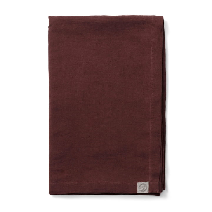 Collect SC31 Bedspread linen 240 x 260 cm from & tradition in burgundy