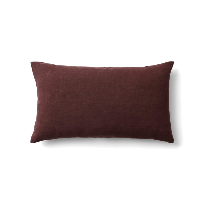 Collect SC30 cushion linen 30 x 50 cm from & tradition in burgundy