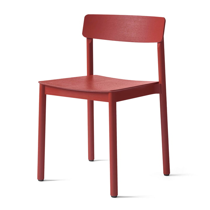 Betty TK2 Chair from & tradition in maroon