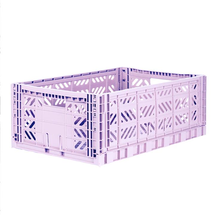 Folding box Maxi 60 x 40 cm from Aykasa in orchid