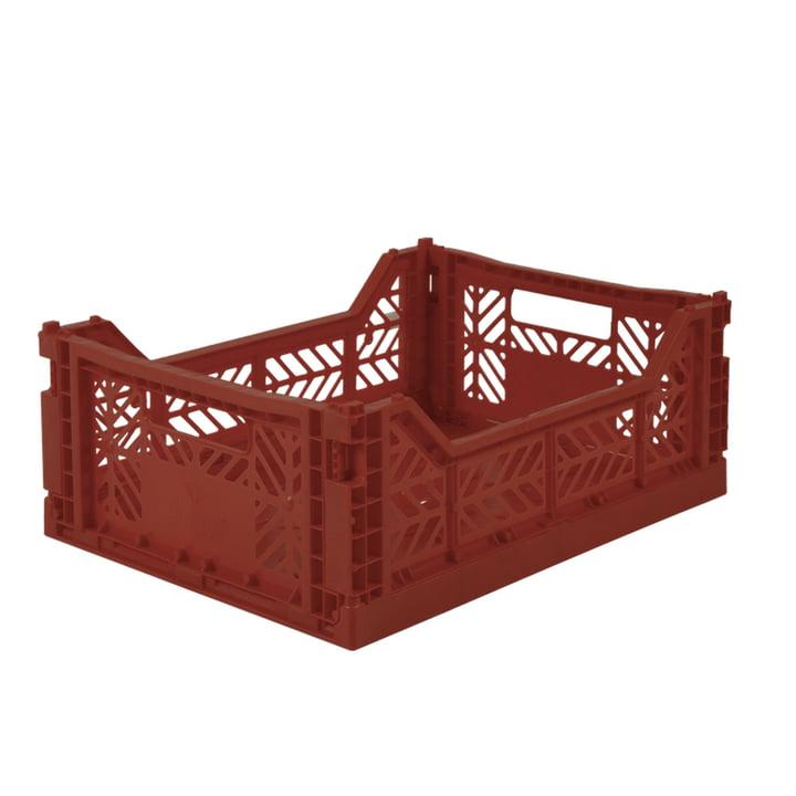 Folding box Midi 40 x 30 cm from Aykasa in tile red