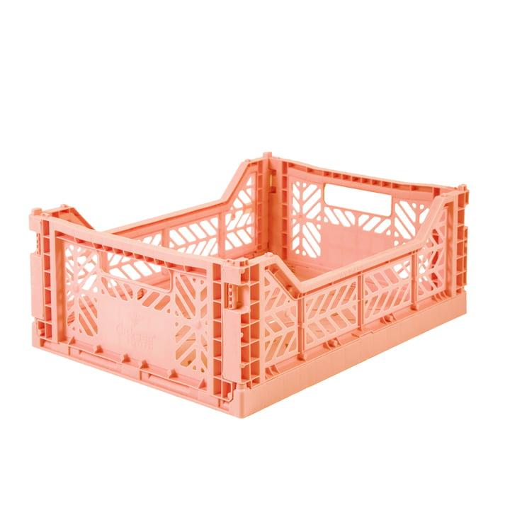 Folding box Midi 40 x 30 cm from Aykasa in salmon