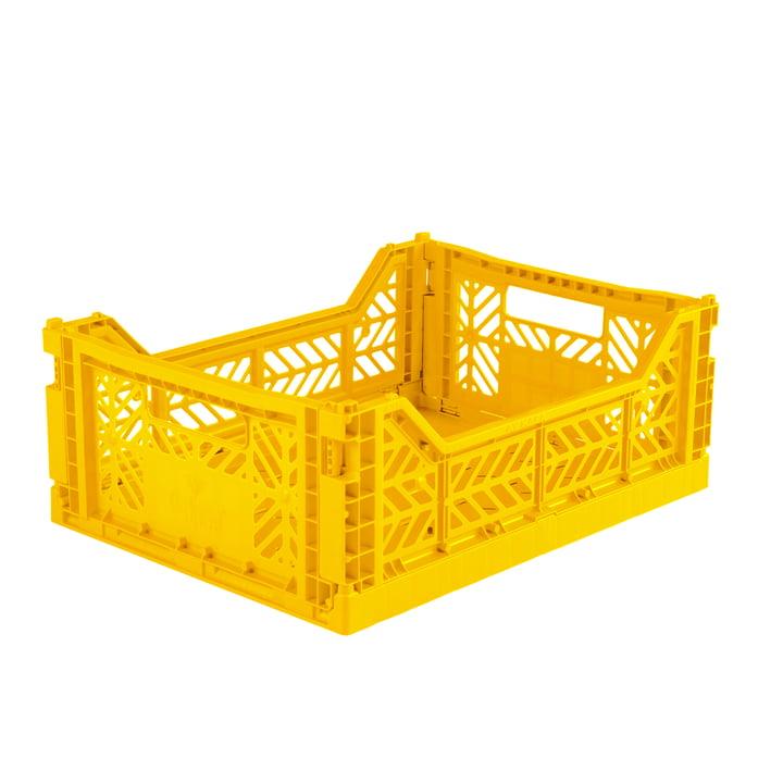 Folding box Midi 40 x 30 cm from Aykasa in yellow