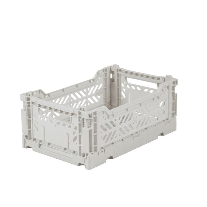 Folding box Mini 27 x 17 cm from Aykasa in light grey