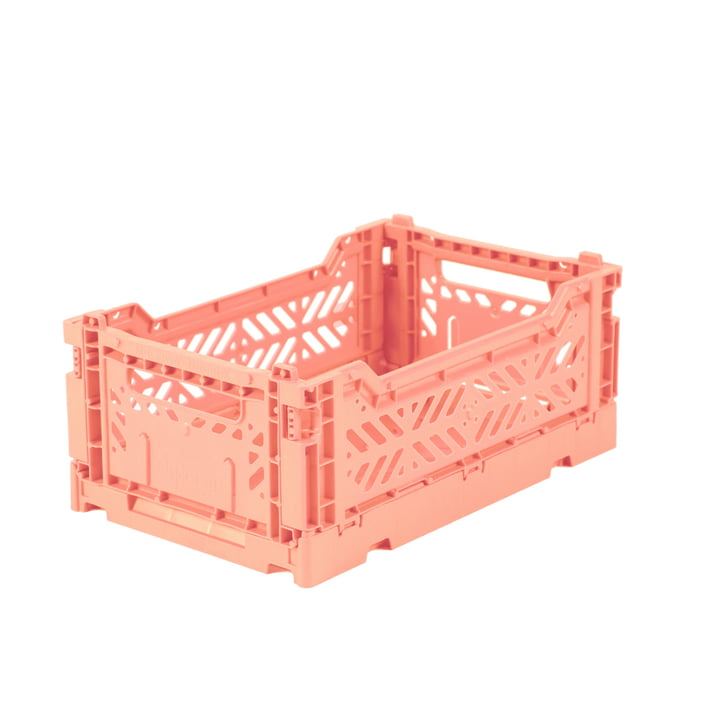 Folding box Mini 27 x 17 cm from Aykasa in salmon