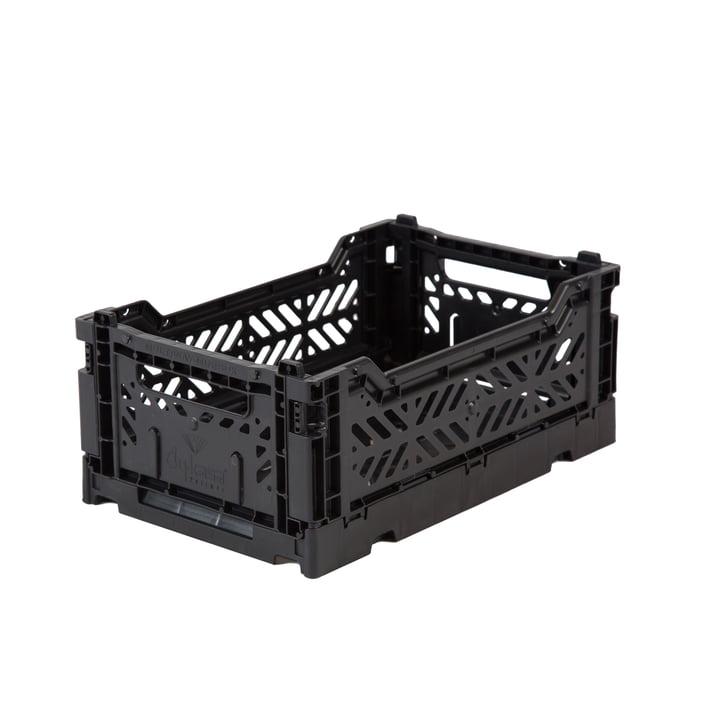 Folding box Mini 27 x 17 cm from Aykasa in black