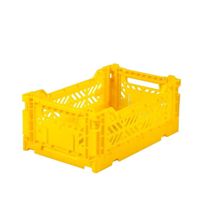 Folding box Mini 27 x 17 cm from Aykasa in yellow