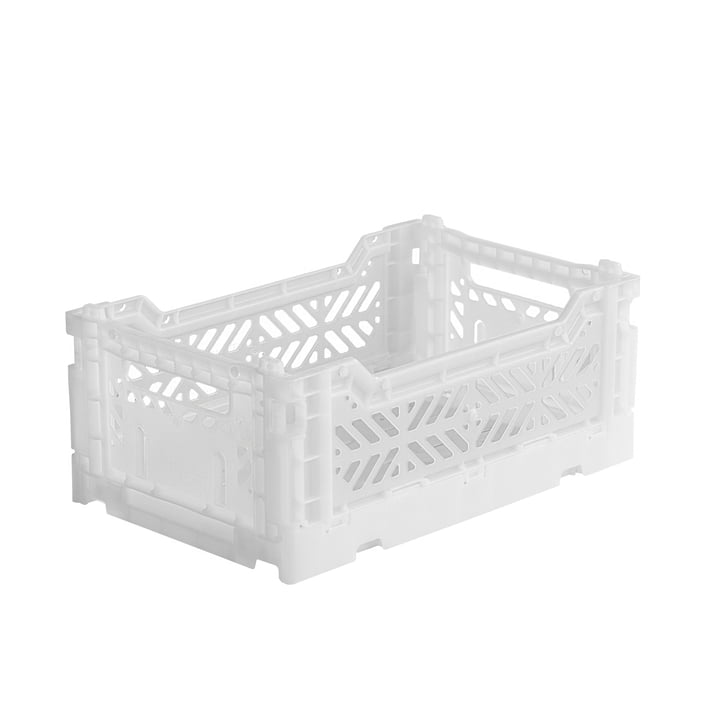 Folding box Mini 27 x 17 cm from Aykasa in white