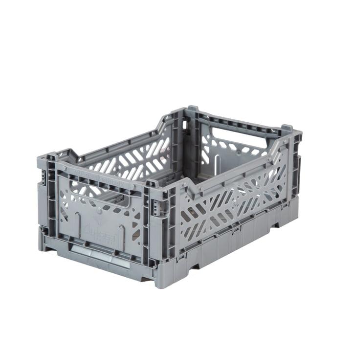 Folding box Mini 27 x 17 cm from Aykasa in grey