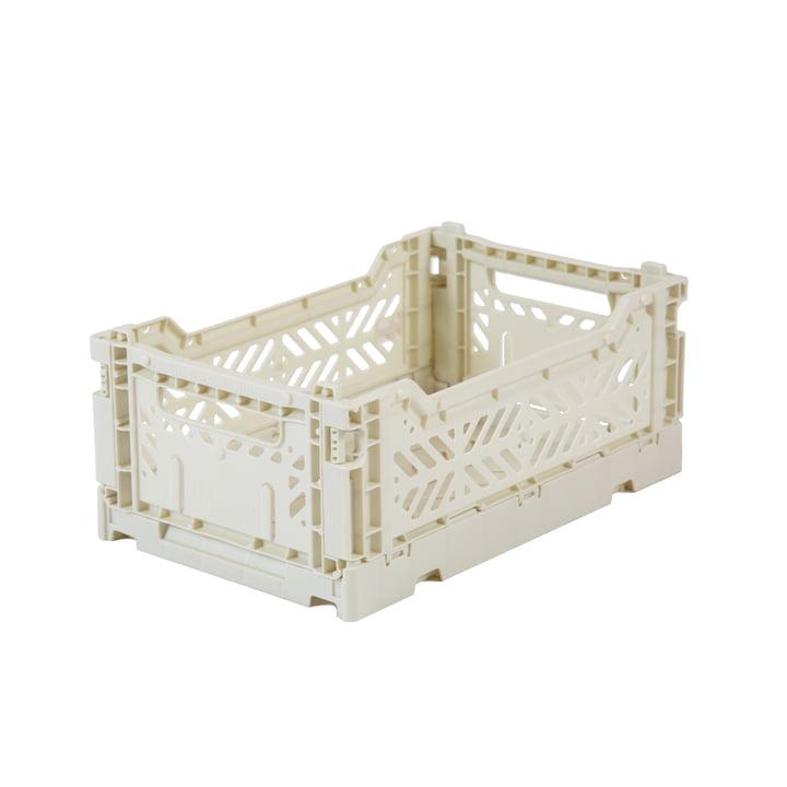 Folding box Mini 27 x 17 cm from Aykasa in coconut milk