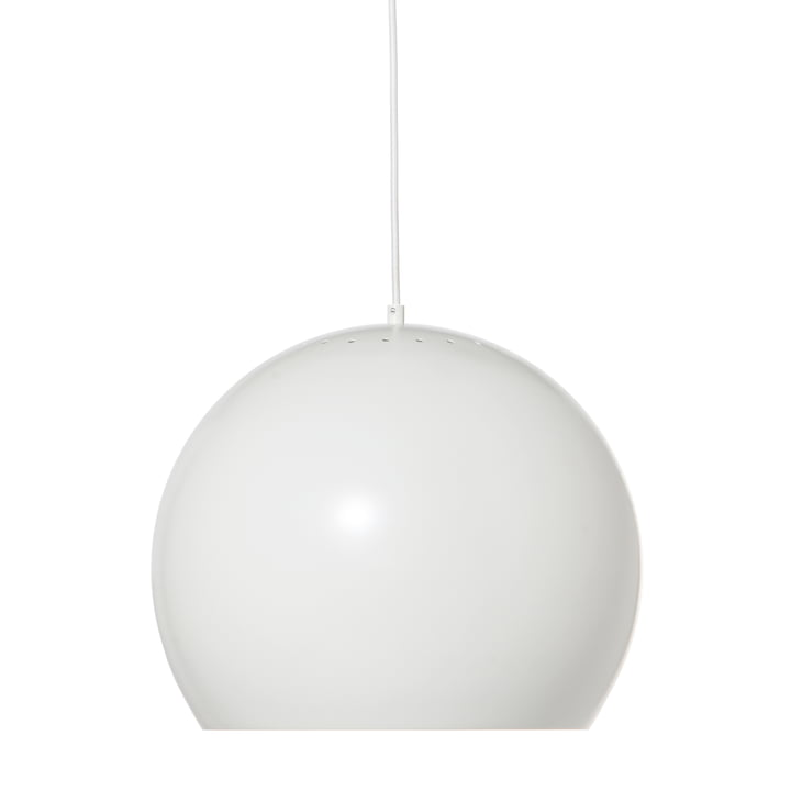 Ball Pendant lamp Ø 40 cm, white matt from Frandsen