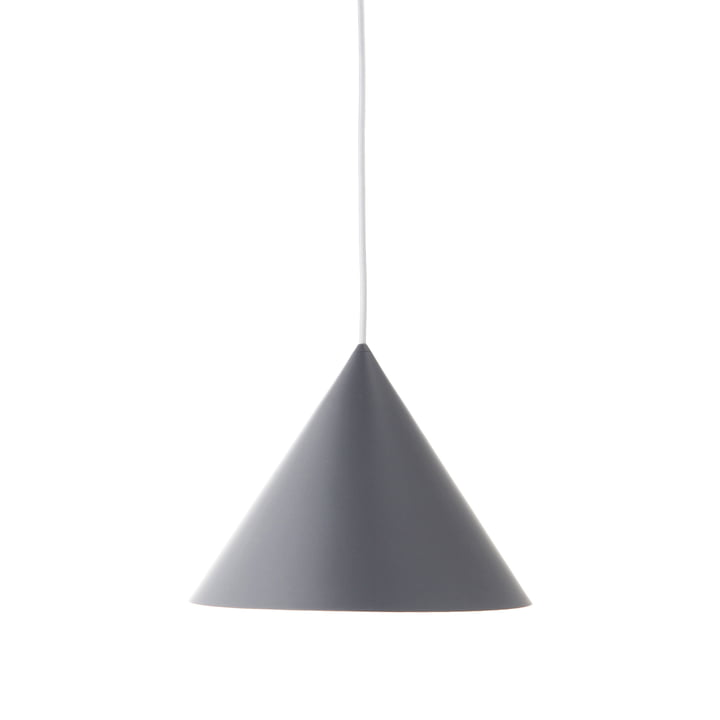 Benjamin Pendant lamp Ø 30 cm, grey matt from Frandsen