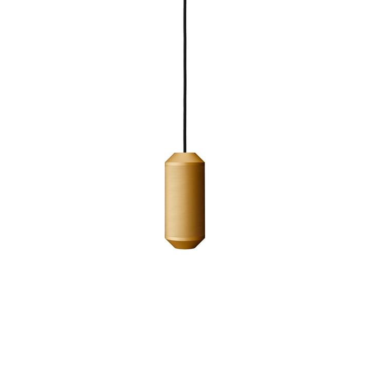 Backbeat Pendant 23,5 cm, gold by Frandsen
