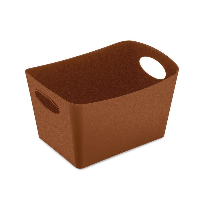 Boxxx S Storage box from Koziol in organic rusty steel
