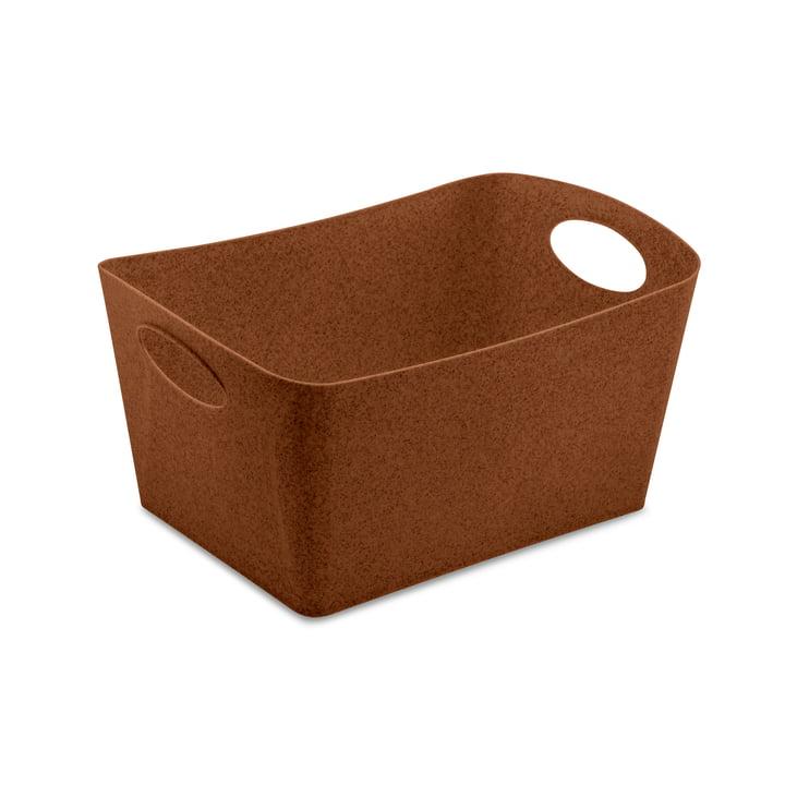 Boxxx M Storage box from Koziol in organic rusty steel