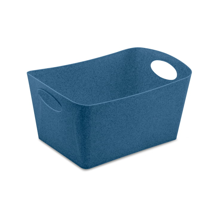 Boxxx M Storage box from Koziol in organic deep blue
