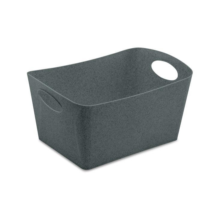 Boxxx M Storage box from Koziol in organic deep grey