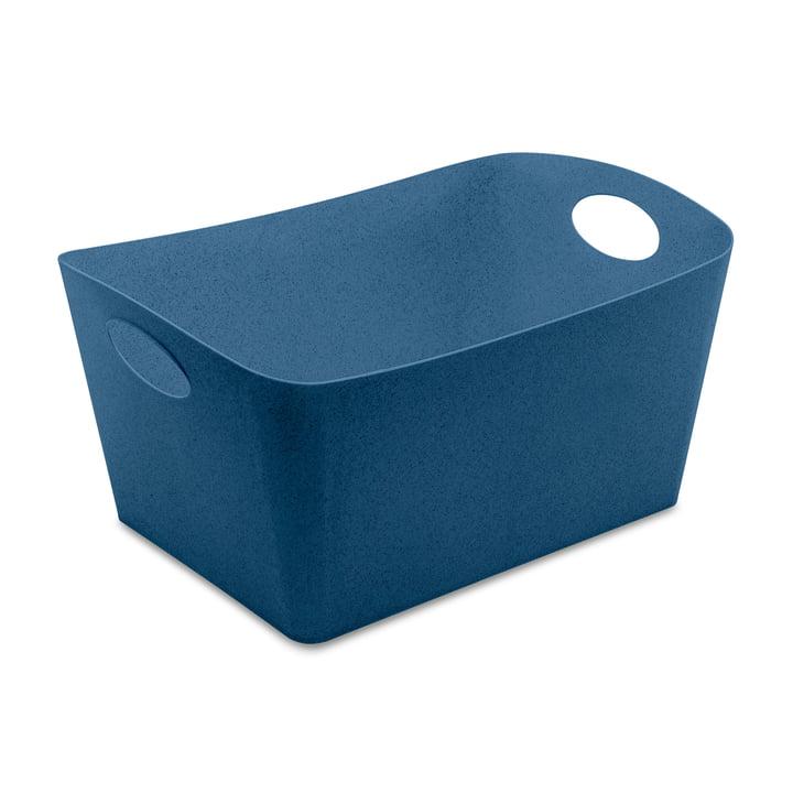 Boxxx L Storage box from Koziol in organic deep blue