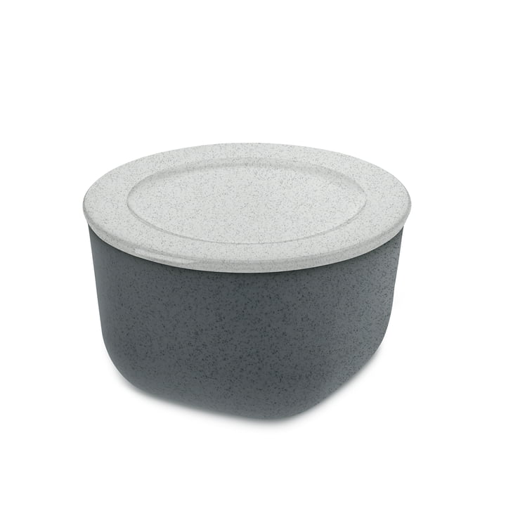 Connect M Storage can 1 l of Koziol in organic deep grey