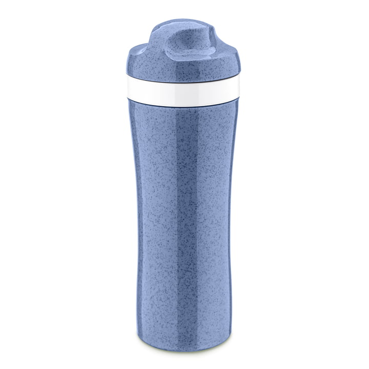 Oase Drinking bottle from Koziol in organic blue