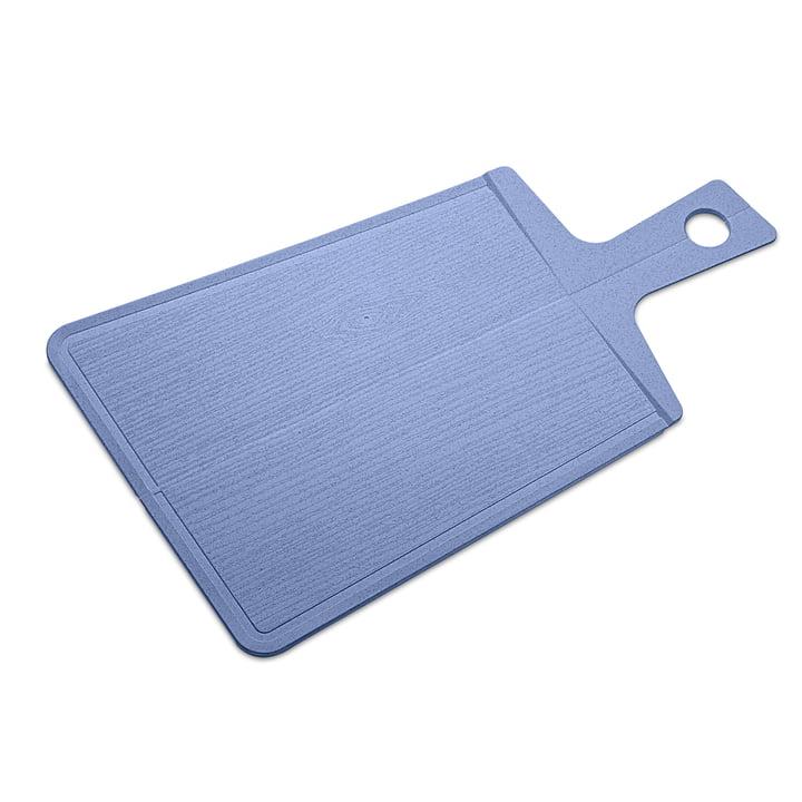 Snap 2. 0 cutting board from Koziol in organic blue