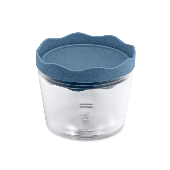 Prince S Storage tin 300 ml from Koziol in organic deep blue