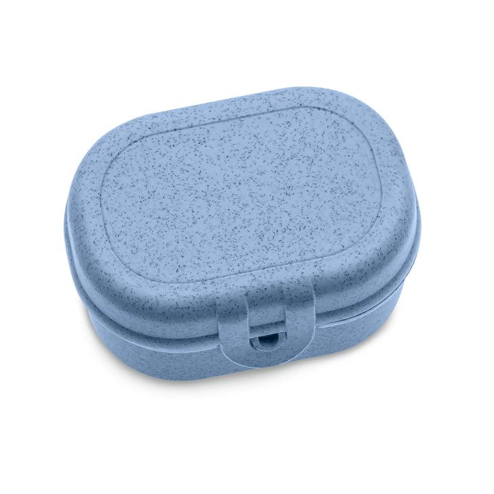 Pascal Mini Lunchbox from Koziol in organic blue