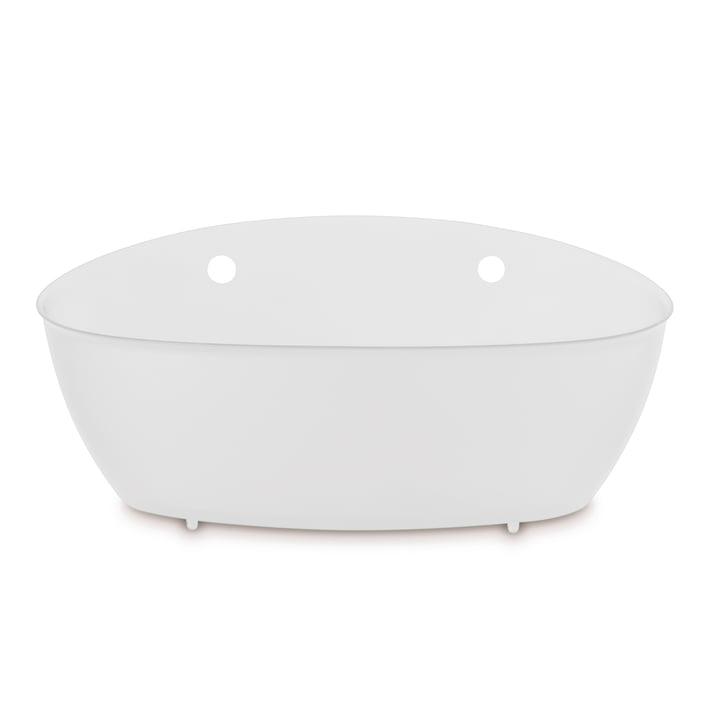 Splash Bathroom silo from Koziol in cotton white