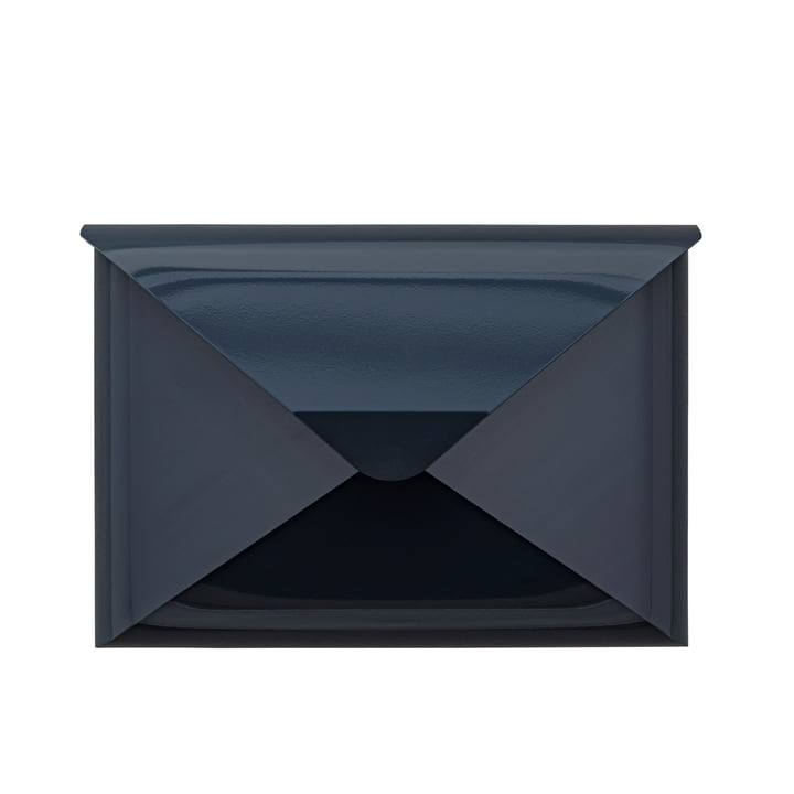 Letter box briefwunder from Dwenger in anthracite classic