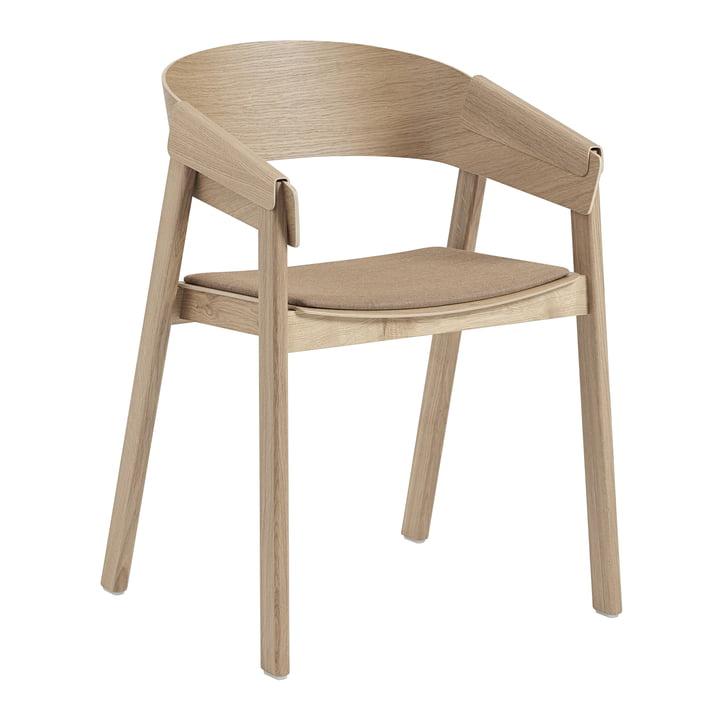 Cover Armchair from Muuto in oak / Remix 252