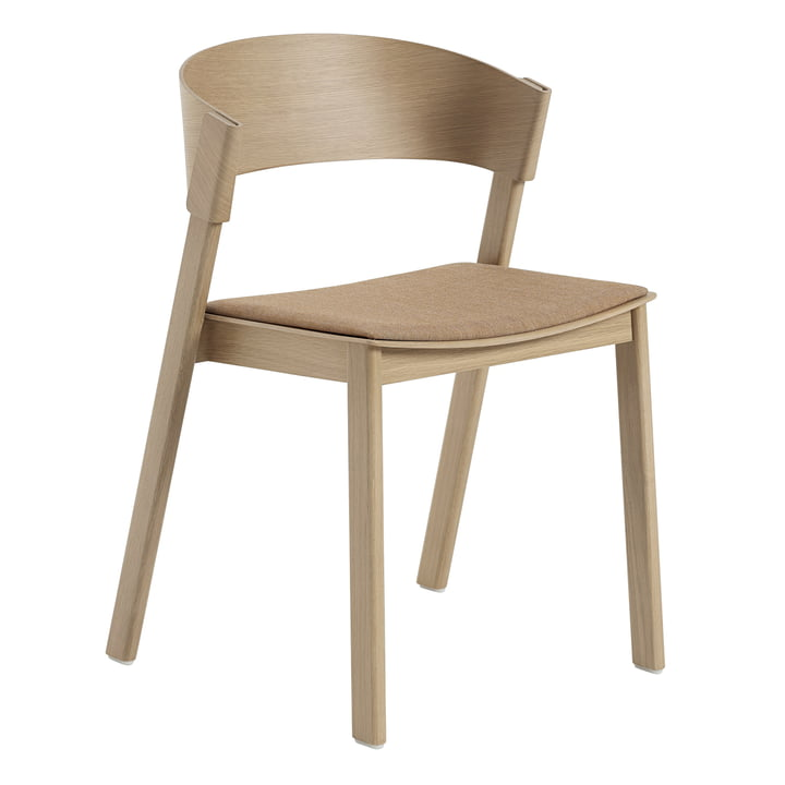 Cover Side Chair from Muuto in oak / Remix 252