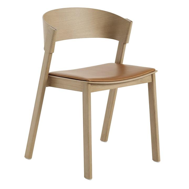Cover Side Chair from Muuto in oak / cognac