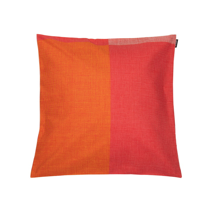 Verkko Pillow case 45 x 45 cm from Marimekko in red / yellow