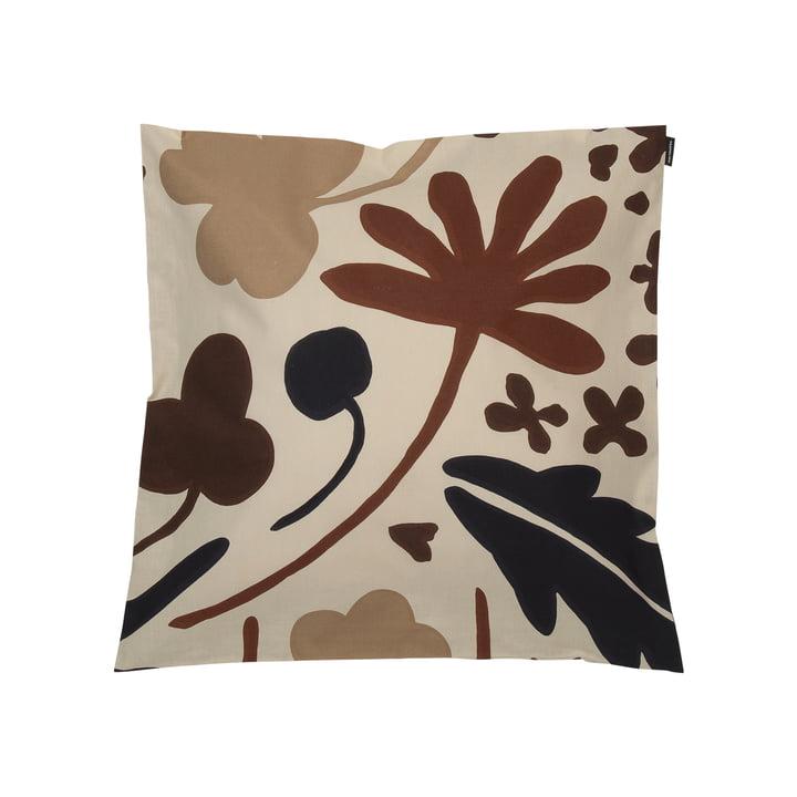 Suvi cushion cover 45 x 45 cm, beige / brown (autumn / winter 2020) by Marimekko