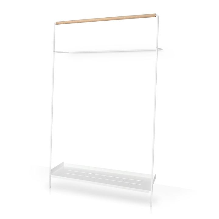 Leaning wardrobe Meta, white / ash by vonbox