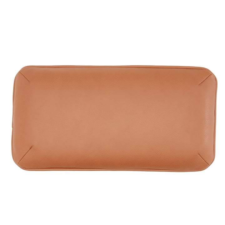 DB1 cushion for Arctic Daybed 50 x 26 cm by Andersen Furniture in cognac (leather Sevilla 4003)