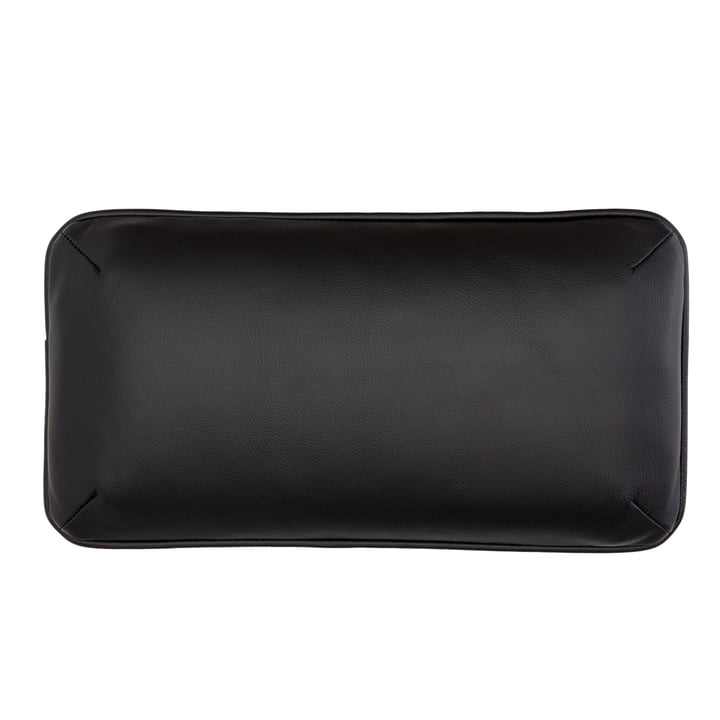 DB1 cushion for Arctic Daybed 50 x 26 cm by Andersen Furniture in black (leather Sevilla 4001)