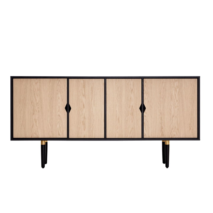 Unique´s sideboard 163 x 43 x 80 cm by Andersen Furniture in oak / black