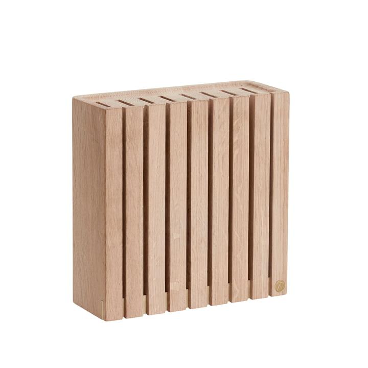 Knife block from Andersen Furniture in oak