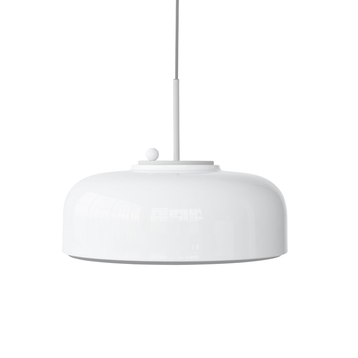 Podgy Pendant lamp Ø 42 cm from Please wait to be seated in white / white