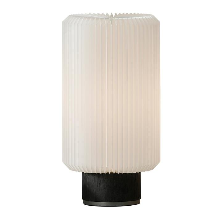 Cylinder Table lamp medium from Le Klint in oak black